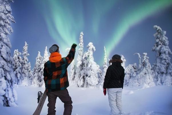 Xmas Skiing Enjoyable within Los angeles Tania