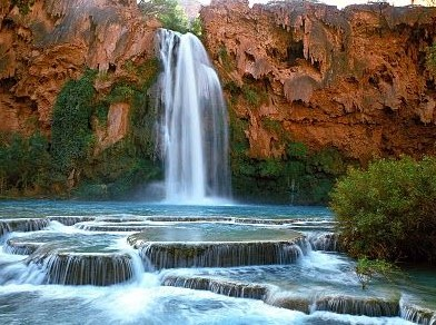 The near future associated with Waterfalls