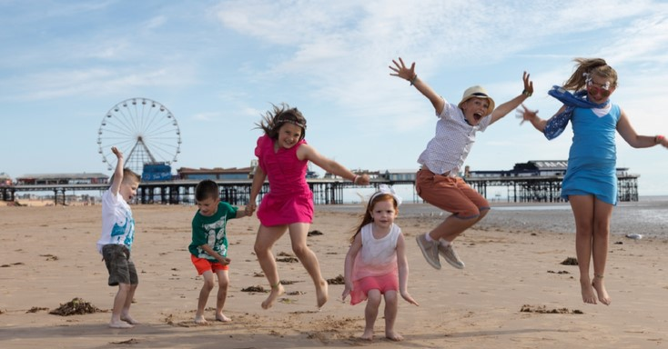 Sports activities within Blackpool