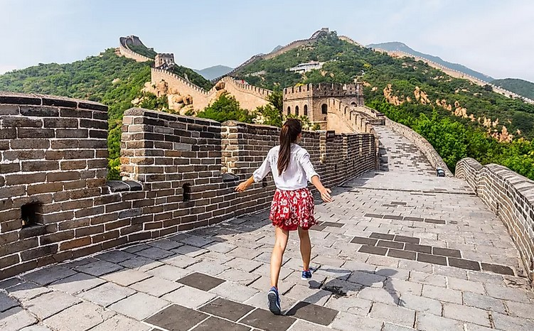 Visiting the truly amazing Walls associated with The far east