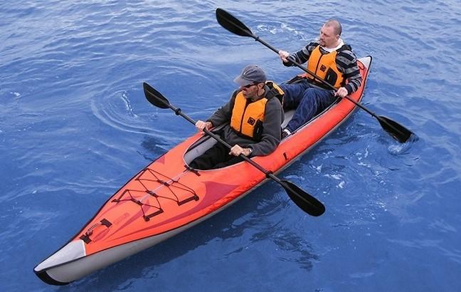 Blow up Kayaks