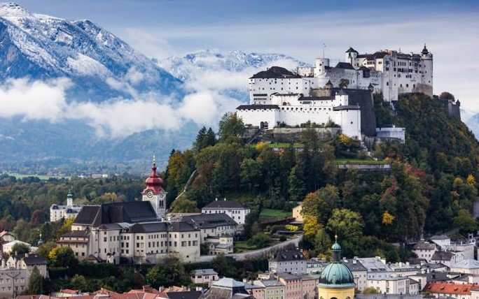 Discovering the actual Points of interest associated with Altstadt, within Salzburg